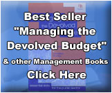 "Best Seller ""Managing the Devolved Budget"" & other Management Books. Click Here."